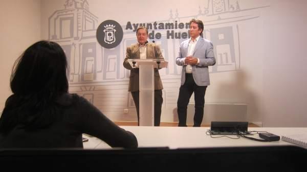 El presidente de Ciudadanos en el Ayuntamiento de Huelva, Ruperto Gallardo.