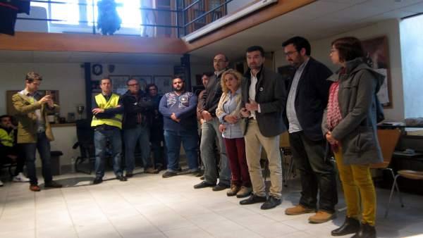Maíllo (IU) en Málaga