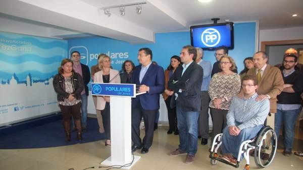 Presentación del proyecto de Sanz para el PP de Cádiz