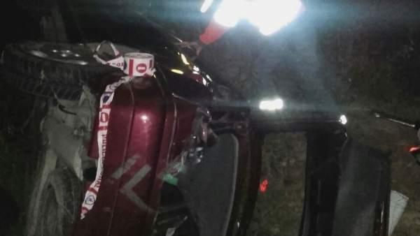 Accidente de tráfico en Villafranca