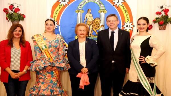 El 'president' ha participado en la inauguración de la Feria