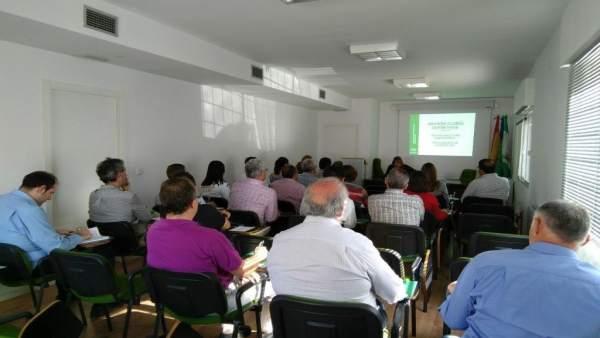 Reunión de la Junta con clubes deportivos de Jaén