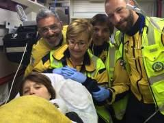 Una mujer da a luz en plena calle de Madrid