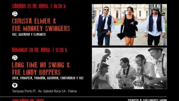 Conciertos swing Día Internacional del Jazz Mallorca