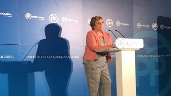 Celia Villalobos presidenta comisión pacto de toledo diputada y exalcaldesa MLG