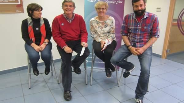 Valladolid. Podemos en Movimiento presenta su candidatura