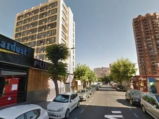 Calle Almería, Benidorm