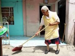 Nopales y verdolagas, el secreto de una mexicana para llegar a los 116 años