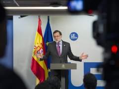 """Rajoy ironiza sobre la moción de Podemos: """"No haré ninguna moción contra Iglesias"""""""