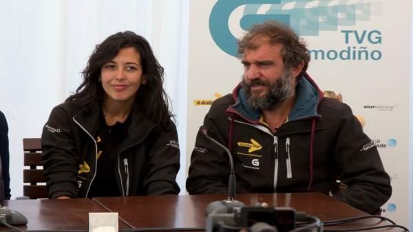 Lucía Pérez y Tonhito de Poi