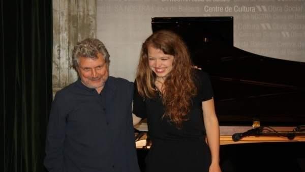 Manel Camp y Gemma Abrié