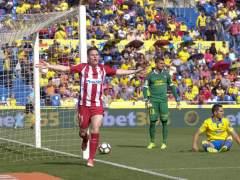 El Atlético de Madrid golea en Las Palmas