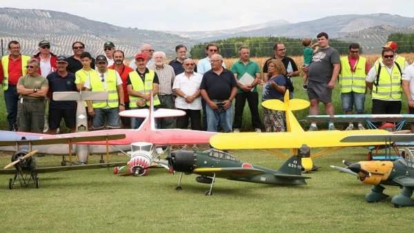 XII Festival de Aeromodelismo de Huétor Tájar
