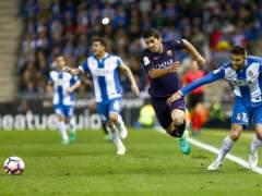 El Barcelona se lleva el derbi ante el Espanyol