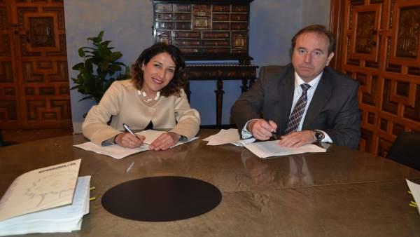 Firma de contrato de gestión de Epremasa