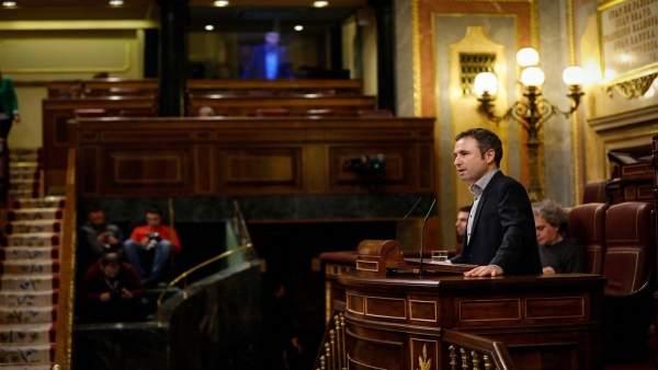 El diputado de Ciudadanos por Málaga Guillermo Díaz