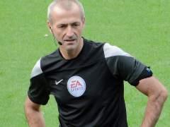 El inglés Martin Atkinson arbitrará el Real Madrid-Atlético