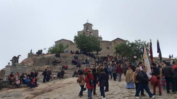 Romería de la Virgen de la Cabeza en Andújar (Jaén)