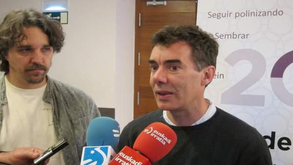 El diputado de Unidos Podemos, Eduardo Santos