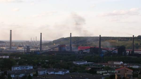 Baterías de coque de ArcelorMittal.