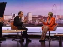 """May predice """"duras conversaciones"""" con la Unión Europea"""
