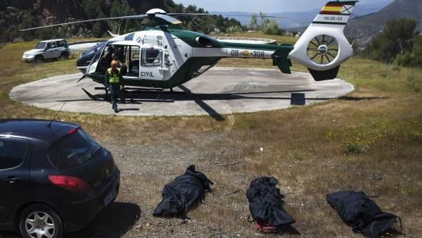 Accidente de avioneta en Málaga