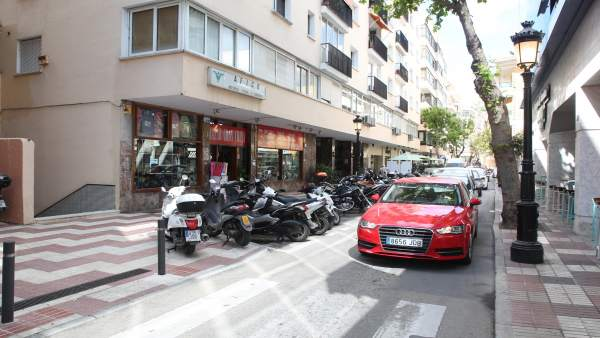 Calle Alonso de Bazán marbella obra movilidad