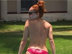 El 'topless' de Cristina Castaño para celebrar sus 600.000 seguidores