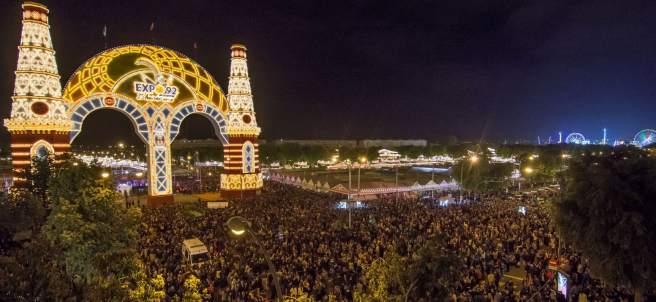 'Alumbrao' de la Feria de Abril de Sevilla