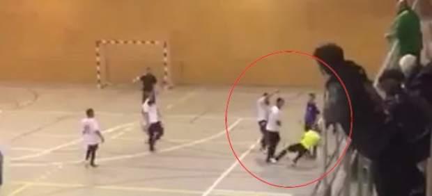 Agresión a un árbitro de fútbol sala