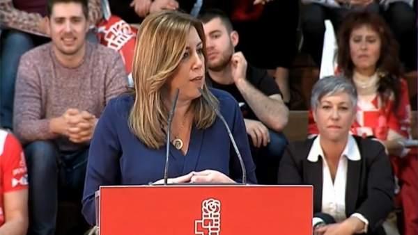 Susana Díaz no permitirá que nadie 'humille' al PSOE