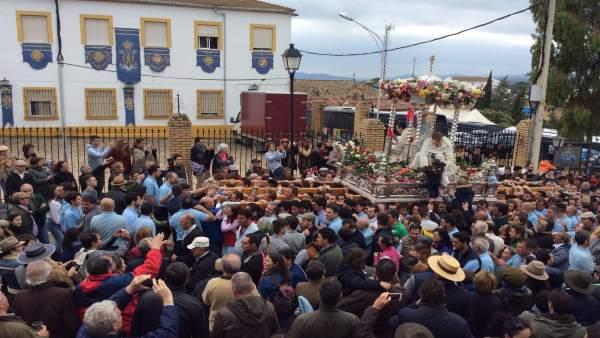 Procesión de la Virgen de la Cabeza en Andújar (Jaén)