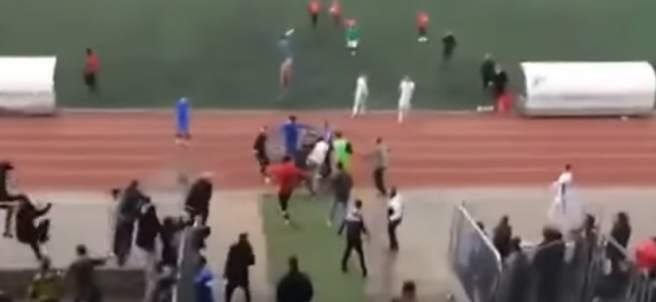 Incidentes en un partido de Tercera División