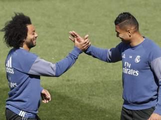 Marcelo y Casemiro