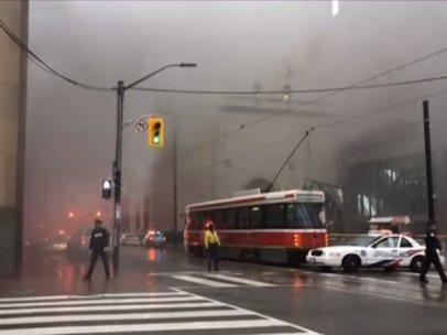 Explosión en Toronto