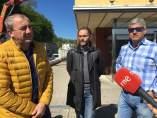 El presidente de la Diputación de Lugo hablar sobre el 'Lugowork'.