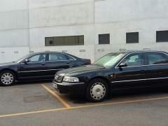 Los coches oficiales subastados