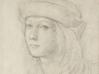 Rafael - Portrait of a youth (self-portrait?), c. 1500–1
