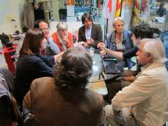 Reunión del Comité Ejecutivo del Pacte Nacional pel Referèndum.