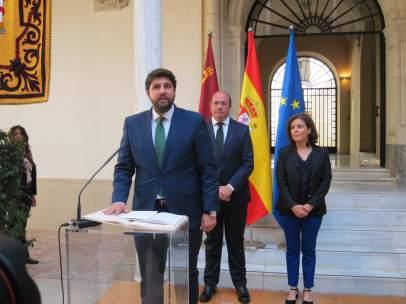 Fernando López Miras, Jura El Cargo