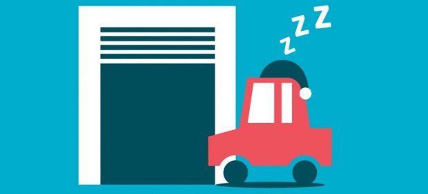 Aparcar el coche en garaje baja el precio del seguro