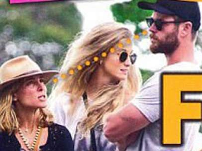 Elsa Pataky y Chris Hemsworth