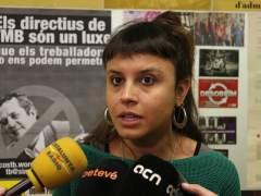 La concejal de la CUP de Barcelona Maria Rovira