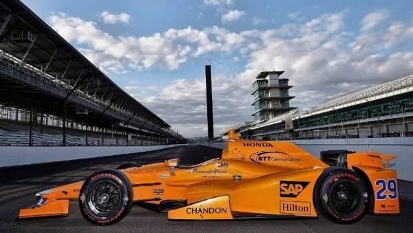 McLaren de Alonso para las 500 millas de Indianápolis