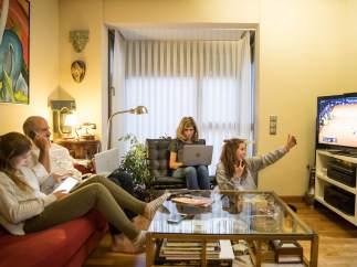 Familia, televisión