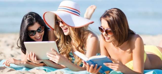 Turismo, playa, tecnología