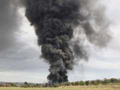 Incendio en Arganda