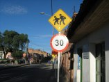 Velocidad limitada a 30 km/h