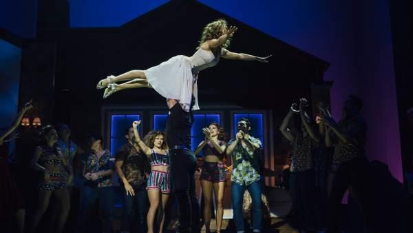 El famoso 'salto del ángel' de 'Dirty Dancing'
