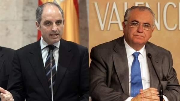 Francisco Camps y Juan Cotino